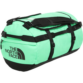 The North Face Base Camp Duffel S, chlorophyll green/tnf black